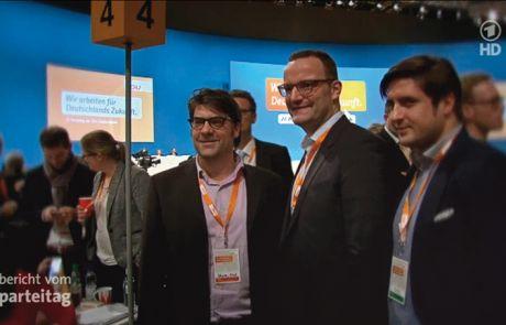 Jens Spahn 2014 Bewerbungsrede Bundespräsidium