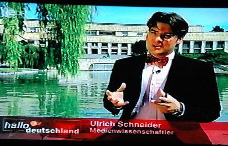 Medienexperte bei ARD Hallo Deutschland